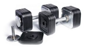 IronMaster Dumbbells Have Quick Adjustment