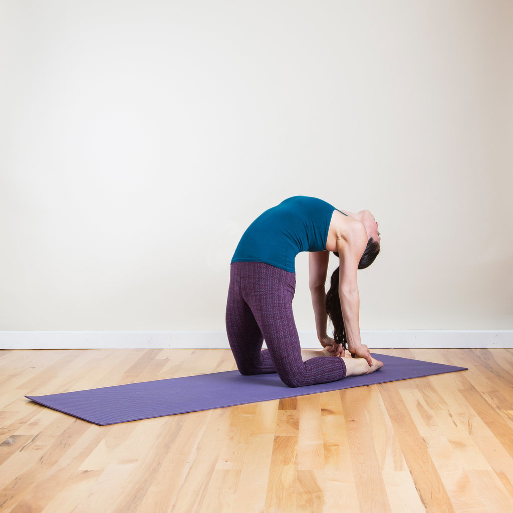 camel stretch exercise