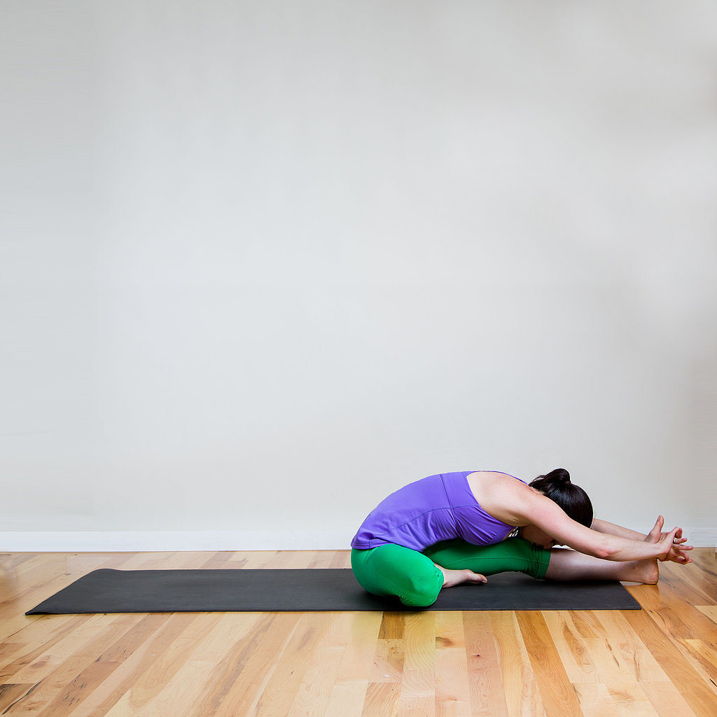 Head to Knee stretch exercise
