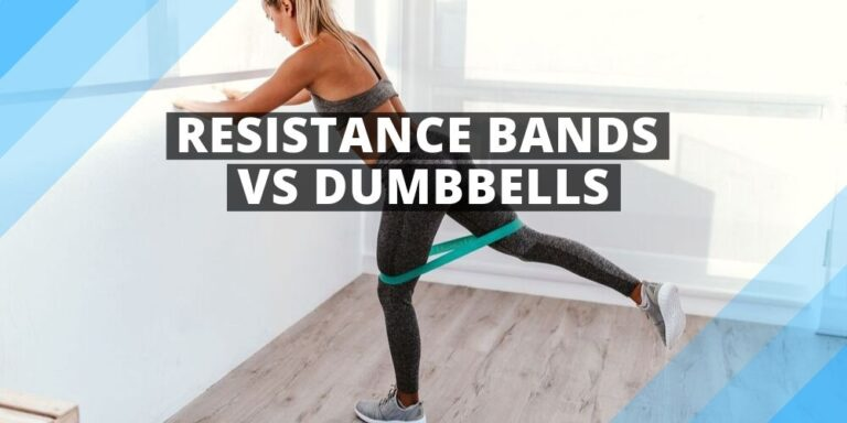 a woman exercising with resistance bands