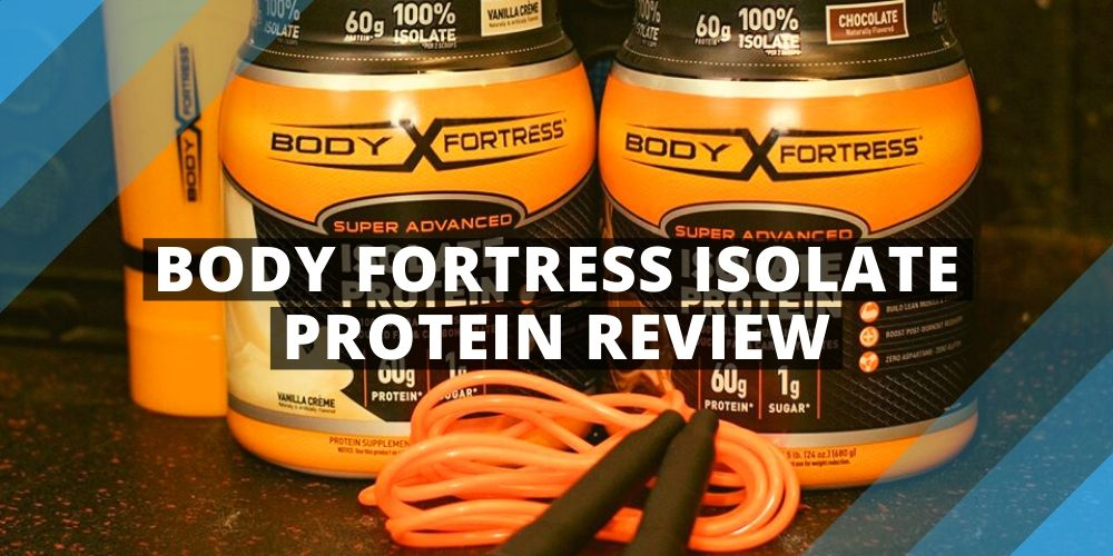 Body Fortress Isolate Protein Jars