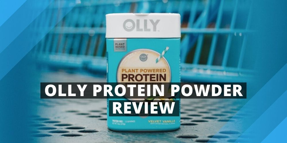 Jar of Olly Protein Powder