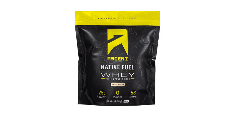 a bag of ascent protein