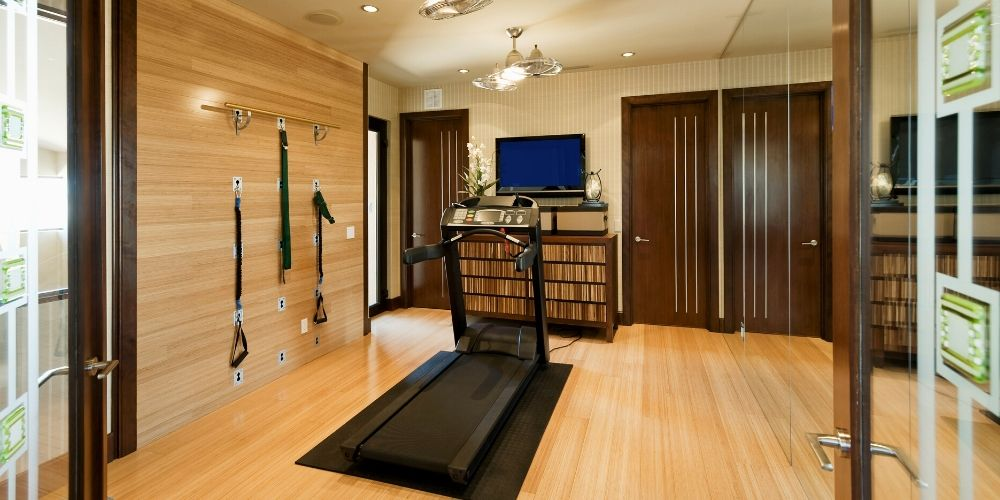 compact gym at home