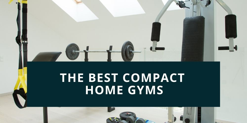 home gym with equipment
