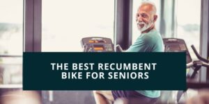old man in a recumbent bike