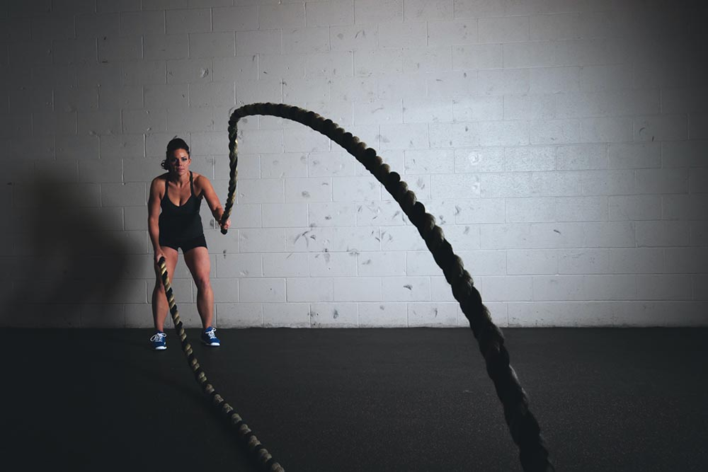 What Muscles Do Battle Ropes Work