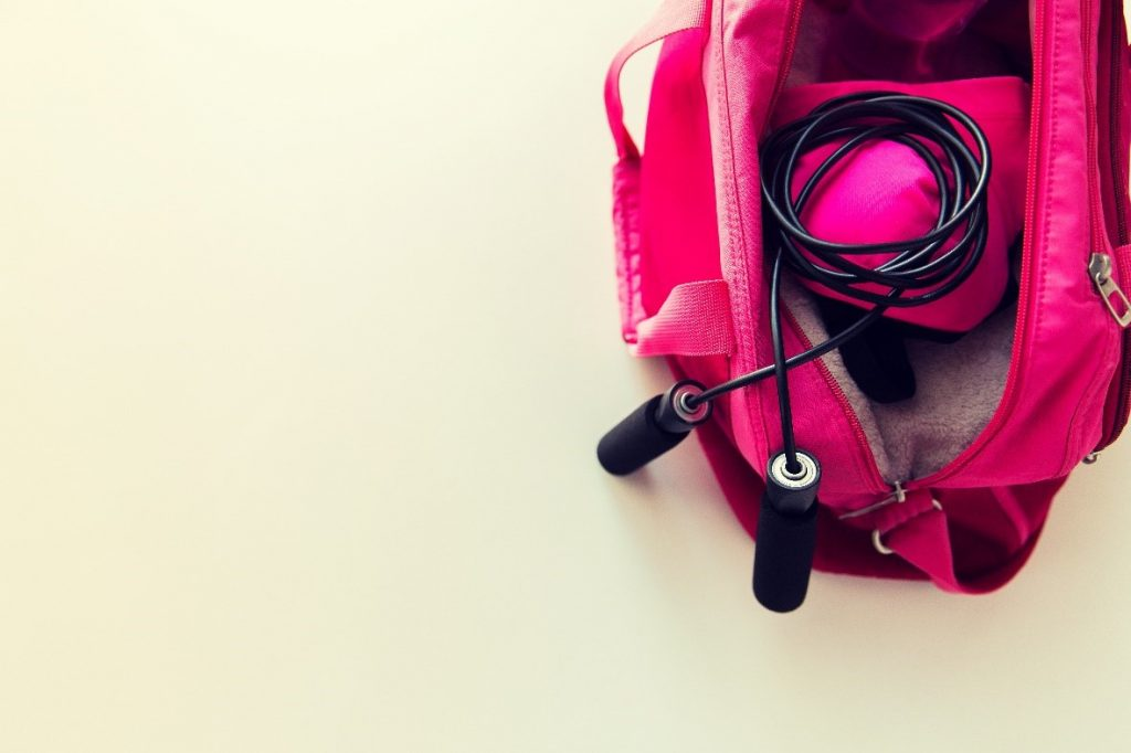 Sport-Chic Gym Bags for Women